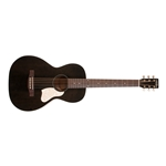 Art&Lutherie Roadhouse Parlor Acoustic Electric Guitar - Faded Black