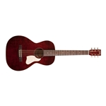 Art&Lutherie Roadhouse Parlor Acoustic Electric Guitar - Tennesse Red