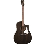 Art&Lutherie Americana Dreadnought Acoustic Electric Guitar w/CW & QIT - Faded Black