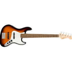 Fender Squier Affinity Series™ Jazz Bass® V, Laurel Fingerboard, Brown Sunburst